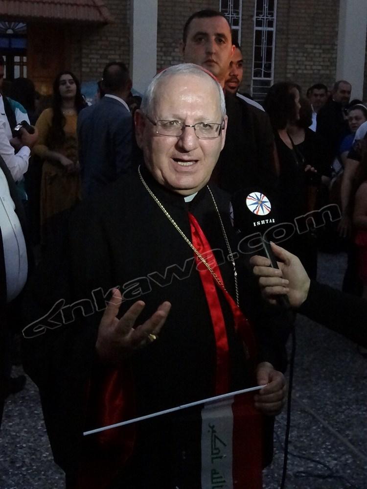 0811Iraq_Patriarch Louis Raphael I Sako of Baghdad